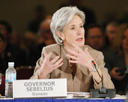 Governor Kathleen Sebelius: Representing our Gray