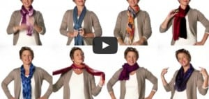 Rock That Gray with a Fabulous Scarf!