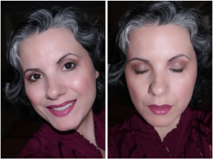 Accent Your Gorgeous Gray with this Fabulous Valentine's Day Look