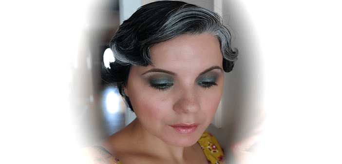 makeup for gray and silver gray